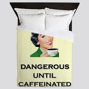 Dangerous Until Caffeinated Coffee Retro Housewife