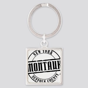 Montauk Title W Square Keychain
