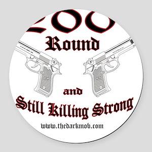 dm 200 Round Car Magnet