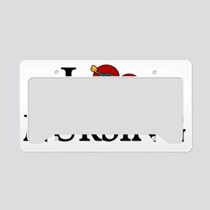 ilovenursing License Plate Holder