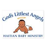 Gods littlest Angels Postcards (Package of 8)