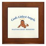 Gods Littlest Angels Framed Tile