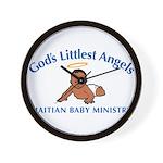 Gods littlest Angels Wall Clock
