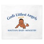 Gods littlest Angels King Duvet