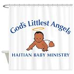 Gods littlest Angels Shower Curtain