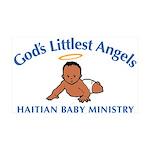 Gods Littlest Angels Wall Decal