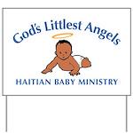 Gods littlest Angels Yard Sign