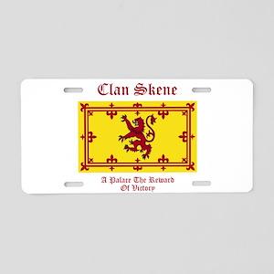 Skene Aluminum License Plate
