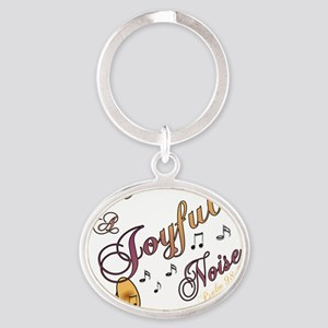 JoyfulTrump Oval Keychain