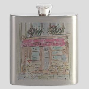 AWP_CafePress_CrepesSuzette_10x10 Flask