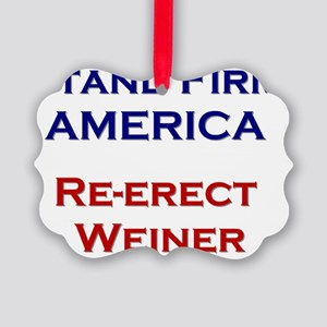 weiner_t_02 Picture Ornament