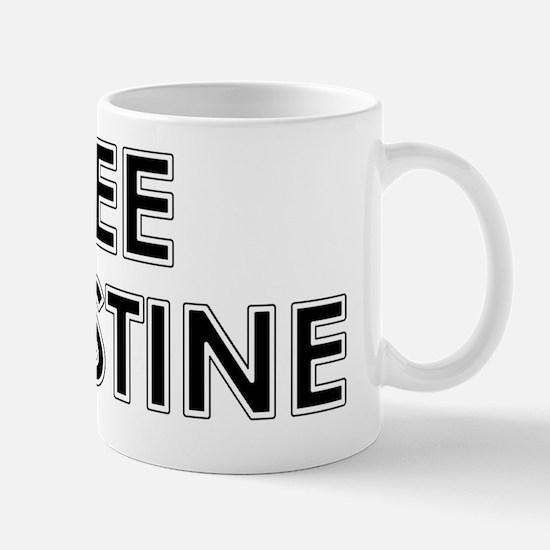 Free Palestine1 Mug