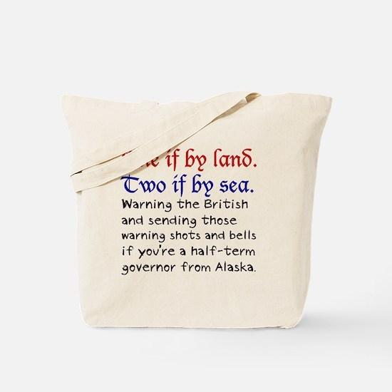 palinrevere Tote Bag