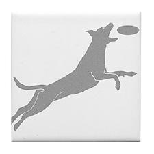 Disc Dog Tile Coaster