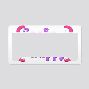 CacheHappy License Plate Holder