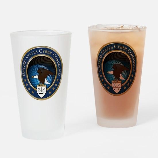uscybercommand Drinking Glass