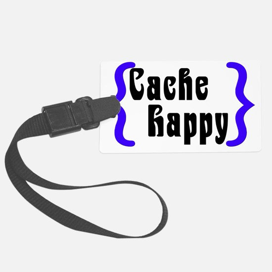 CacheHappy2 Luggage Tag