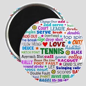 Tennis Names Shirt Magnet