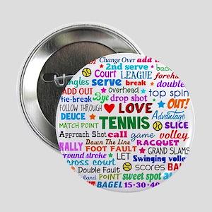 "Tennis Names Shirt 2.25"" Button"