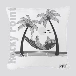 ppjbwhamock Woven Throw Pillow