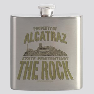 ALCATRAZ_THE ROCK_5x4_pocket Flask