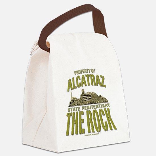 ALCATRAZ_THE ROCK_5x4_pocket Canvas Lunch Bag