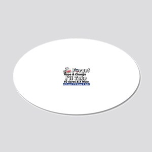 forgetfinal 20x12 Oval Wall Decal