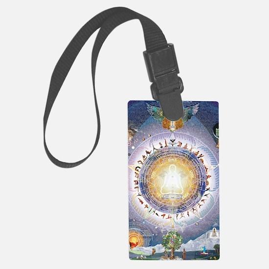 Universal Yoga Mandala Luggage Tag