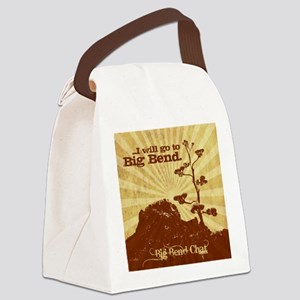 I will go to Big Bend Canvas Lunch Bag