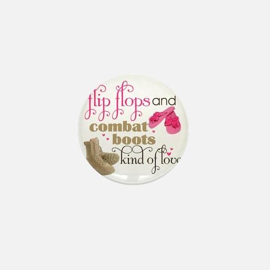 flip flops Mini Button