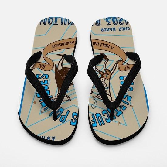 kangaroo_fisticuffs Flip Flops