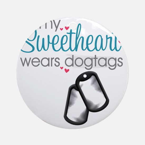 sweetheart1 Round Ornament