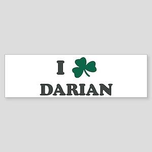 I Shamrock DARIAN Bumper Sticker