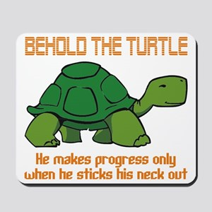 behold the turtle Mousepad