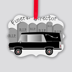 Funeral Director Picture Ornament