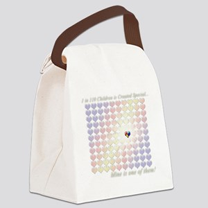 1in110Special-dkbg Canvas Lunch Bag
