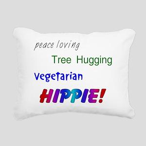 veggiehippie Rectangular Canvas Pillow