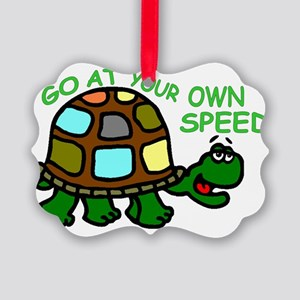 ownspeed14x21 Picture Ornament