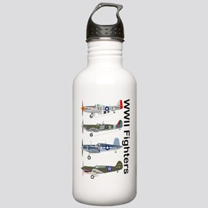 WWIIFighters_Front Stainless Water Bottle 1.0L