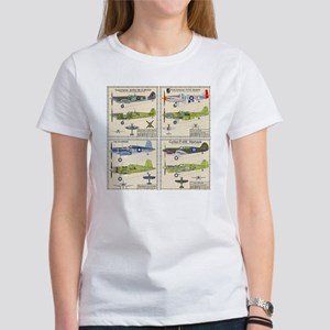 WWIIFighters_Back Women's T-Shirt