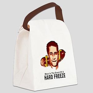 HardFreezeWarning12x12 Canvas Lunch Bag