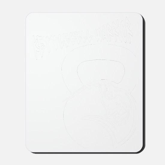 kettlebell_warrior Mousepad