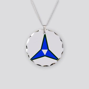 III Corps Necklace Circle Charm