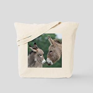 Donkey clock Tote Bag