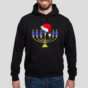 Christmas Menorah Hoodie (dark)