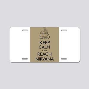Buddha Keep Calm and Reach Nirvana Zen Buddhism Al