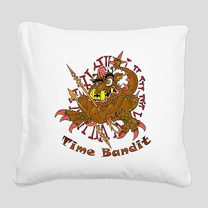 TIME BANDIT Square Canvas Pillow
