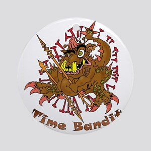 TIME BANDIT Round Ornament