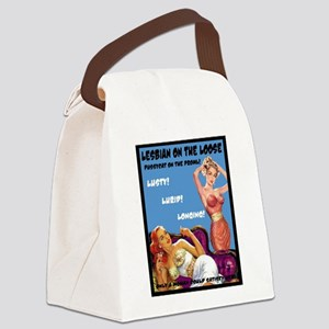 Lesbian Lust Gay Pulp Fiction Image Pin Up Canvas