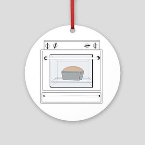 bun-in-the-oven Round Ornament